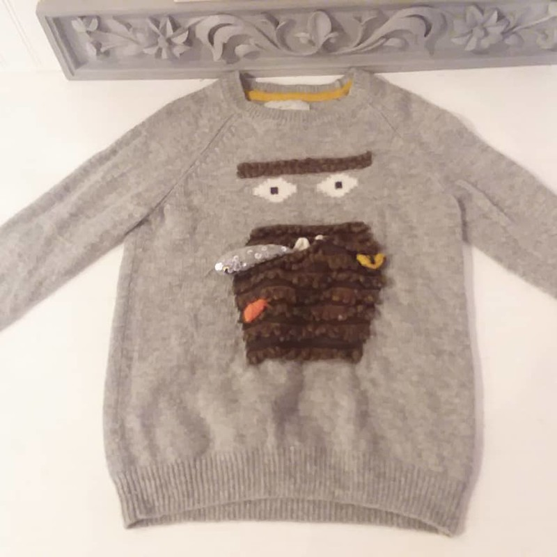 Boden Sweater, None, Size: 6-7