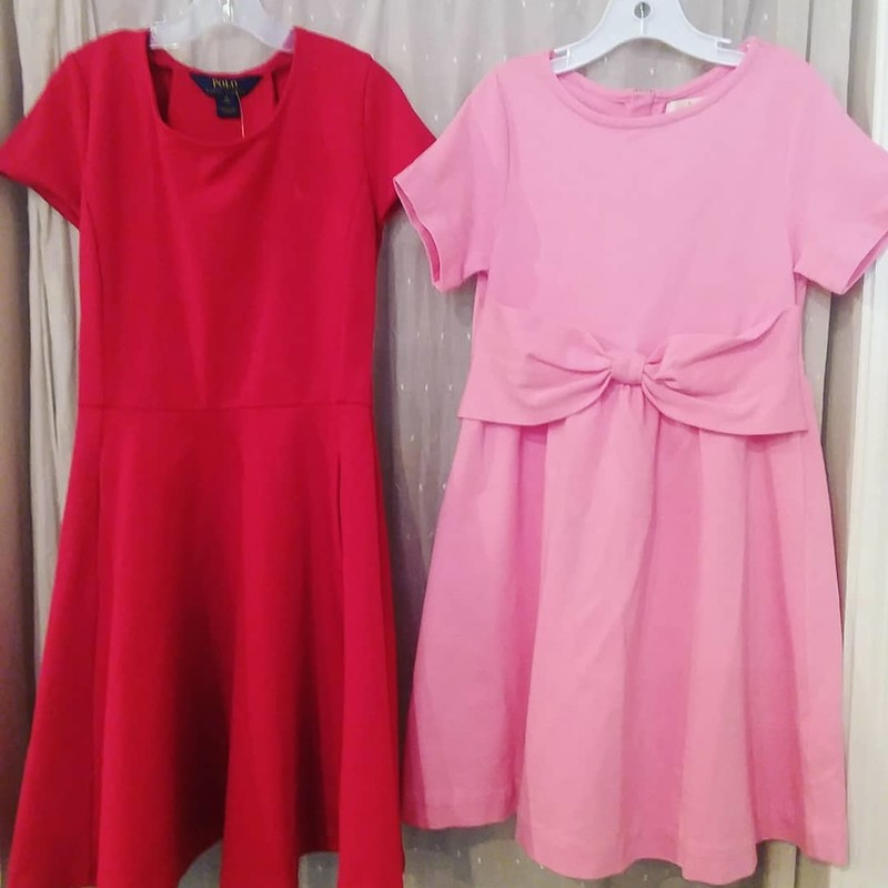 Kate Spade Dress, Pink<br /> Listing is for pink dress on right only.<br /> <br /> <br /> Size: 10