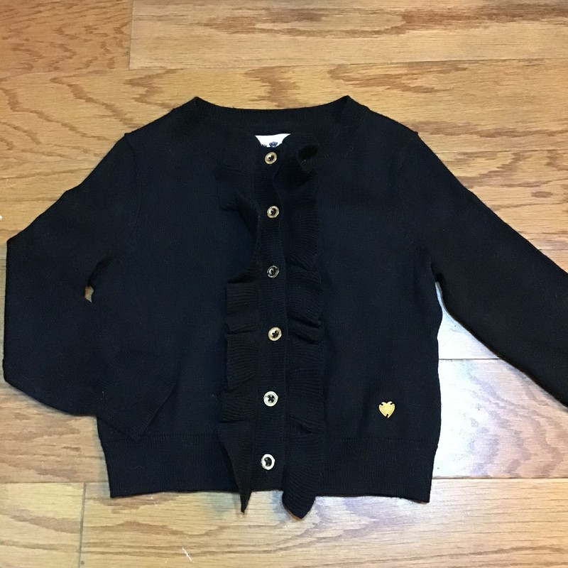 Juicy Couture Cardigan, Black, Size: Xs<br /> <br /> <br /> ALL ONLINE SALES ARE FINAL.. NO RETURNS OR EXCHANGES.