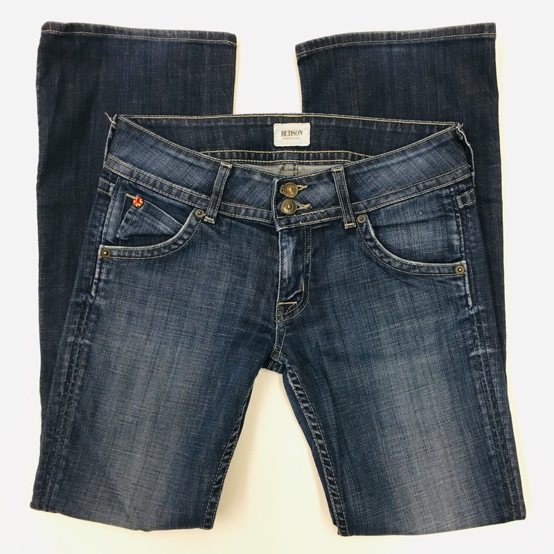 Size: 27 (Womens)<br /> Brand: Hudson Jeans<br /> $16.99<br /> <br /> Cross posted, items are located at #PipsqueakResaleBoutique, payments accepted: cash, paypal & credit cards. Any flaws will be described in the comments. More pictures available with link above. Local pick up available at the #VancouverMall, tax will be added (not included in price), shipping available (not included in price), item can be placed on hold with communication, message with any questions. Join Pipsqueak Resale - Online to see all the new items! Follow us on IG @pipsqueakresale & Thanks for looking!<br /> <br /> Due to the nature of consignment, any known flaws will be described; ALL SHIPPED SALES ARE FINAL. All items are currently located inside Pipsqueak Resale Boutique as a store front, items purchased on location before items are prepared for shipment will be refunded.<br /> <br /> #resalerocks #hudsonjeans #hudson #pipsqueakresale #vancouverwa #portland #reusereducerecycle #fashiononabudget #consignment  #secondhandfirst #momstyle #mommyandmefashion #buy #buysell #buyonistagram #buyonIG #womens_size27