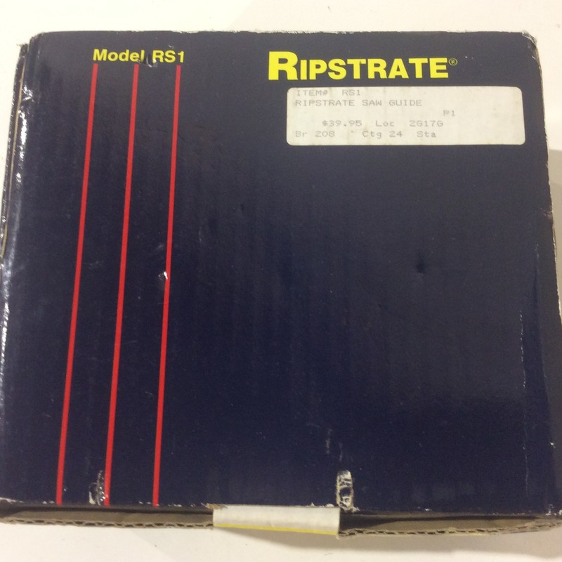 Ripstrate RS1 Anti Kickback Saw Guide<br /> <br /> *NEW IN PACKAGE, NEVER USED*