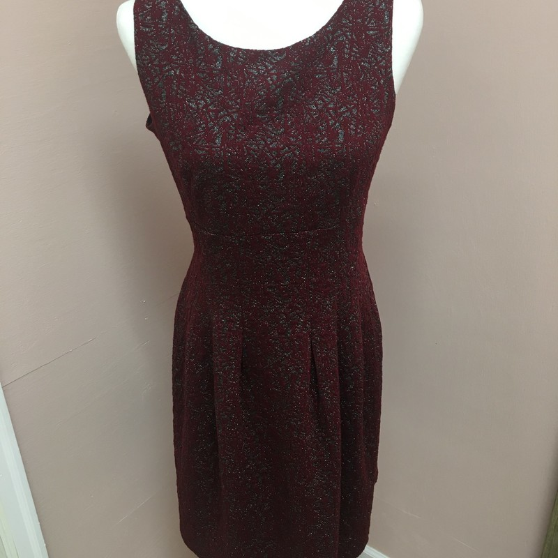 Enfocus Holiday Dress, Red, Size: 8