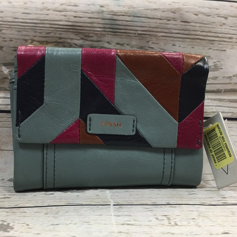 New Fossil Wallet, Multi, Size: None