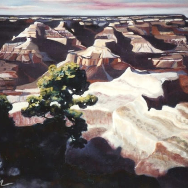 """Just The Grand Canyon"" 31""W x 35""H"