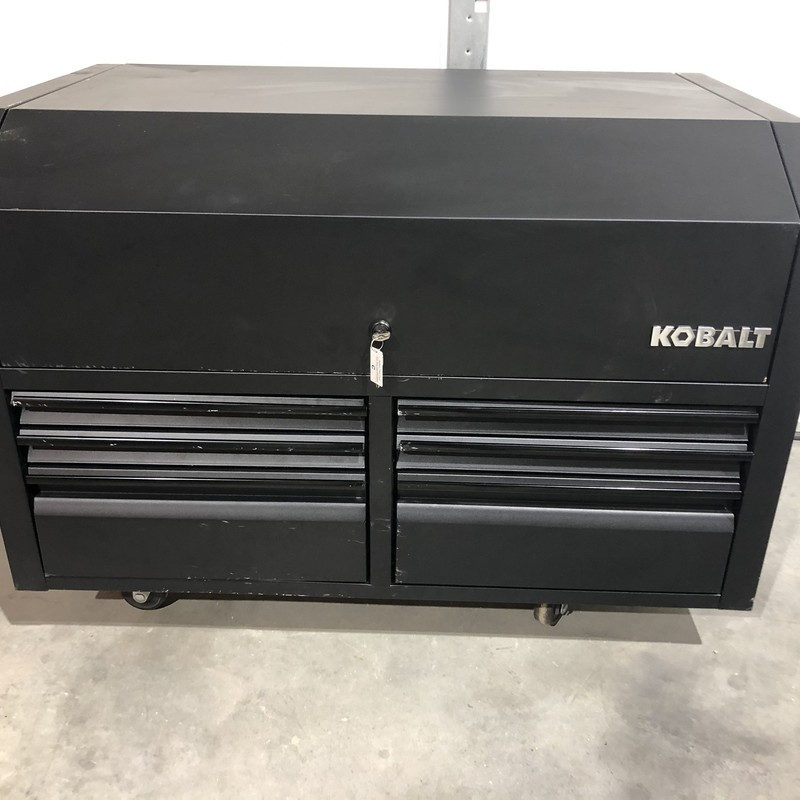 KOBALT 6 Drawer Top Tool Chest with Power Strip & Keys<br /> <br /> *NEVER USED*