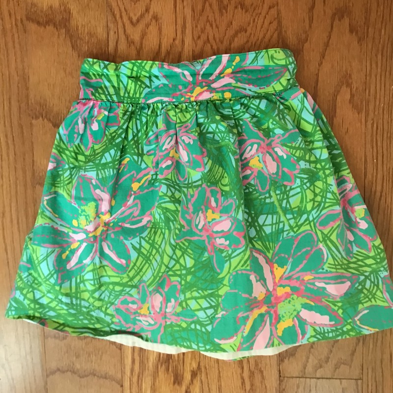 Lilly Pulitzer Skirt, Green, Size: 4<br /> <br /> <br /> ALL ONLINE SALES ARE FINAL. NO RETURNS OR EXCHANGES.
