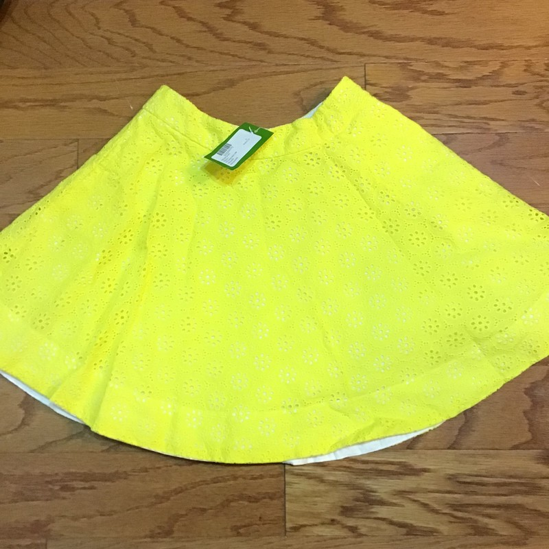 Kate Spade Skirt NEW, Yellow, Size: 10<br /> <br /> <br /> BRAND NEW WITH 78 TAG<br /> <br /> <br /> ALL ONLINE SALES ARE FINAL. NO RETURNS OR EXCHANGES.