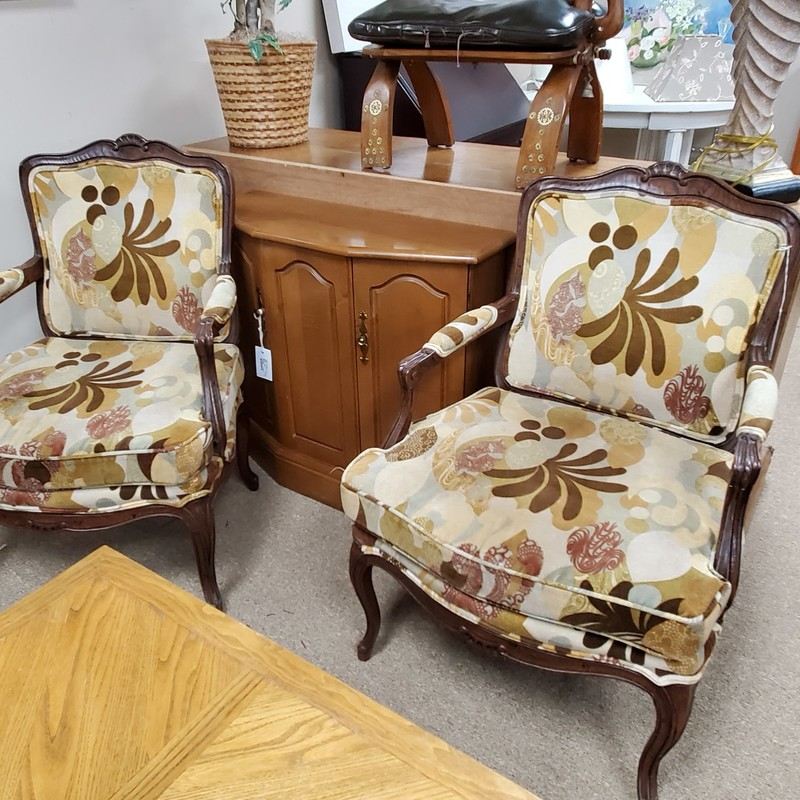 Henredon Chair Pair, None, Size: None