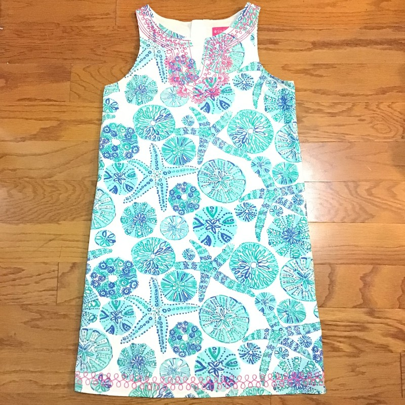 Lilly Pulitzer Dress, Blue, Size: 14-16<br /> <br /> LILLY FOR TARGET<br /> <br /> ALL ONLINE SALES ARE FINAL. NO RETURNS OR EXCHANGES.