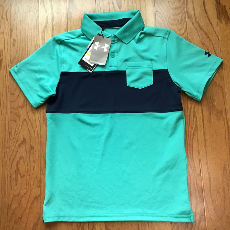 Under Armour Shirt NEW, Navy, Size: Medium<br /> <br /> <br /> BRAND NEW WITH $35 TAG<br /> <br /> <br /> ALL ONLINE SALES ARE FINAL. NO RETURNS OR EXCHANGES.