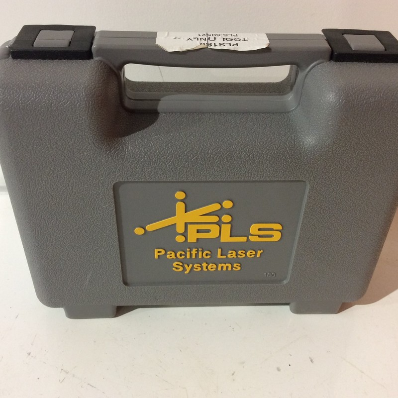 Pacific Laser Systems PLS180 Red Cross Line Laser Level<br /> <br /> *TOOL ONLY*<br /> <br /> *NEVER USED*