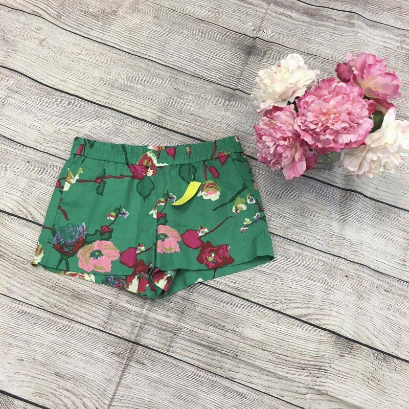 J Crew Green shorts with pockets Size: 8