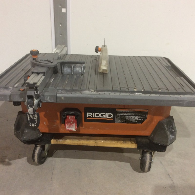 Ridgid R4020 Corded 7 in. Table Top Wet Tile Saw