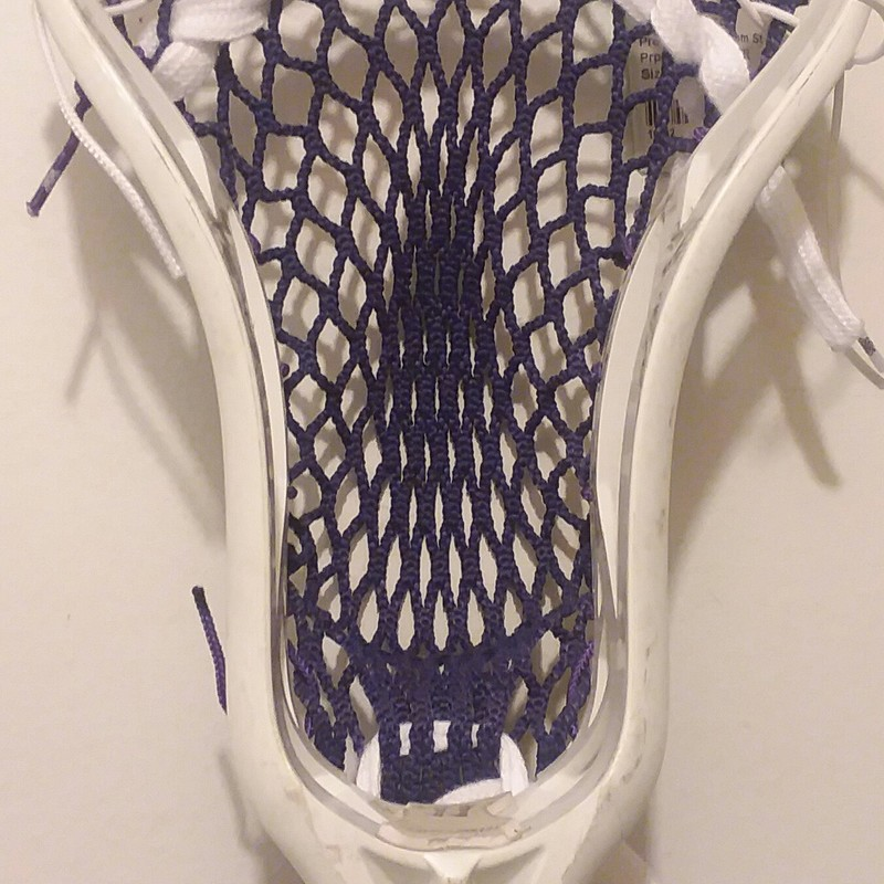 Pre-Owned Custom Strung, Prpl/Wh, Size: Mens