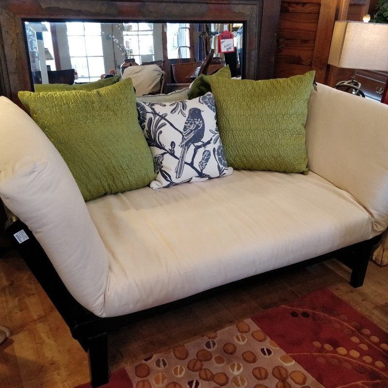 Studio Day Sofa<br /> Entertain with a couch or host a friend for the night by just popping the sides down. Perfect utility for any space.