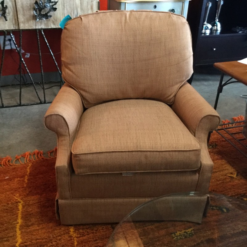 "SwivelArmchair, Apricot, Size: 31.35.29"" We have two of these chairs"