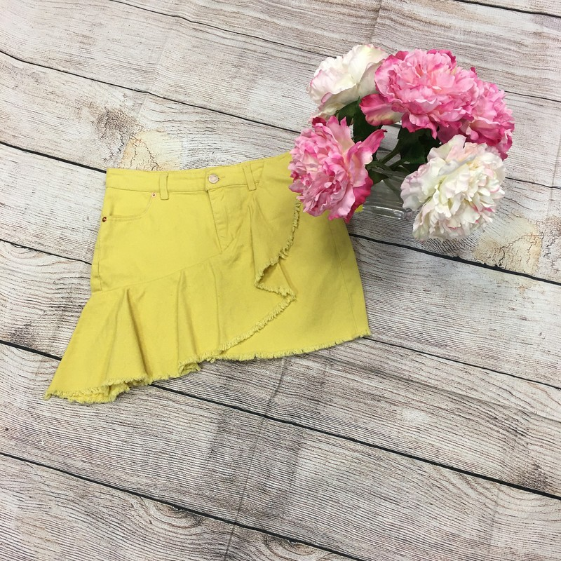 Skirt, Yellow, Size: 4/6
