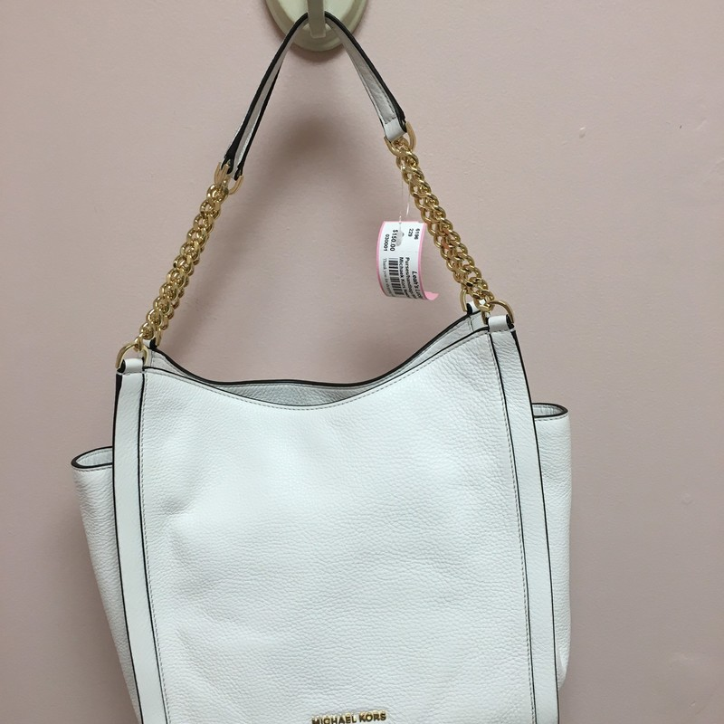 Michaek Kors Newbury, White, Size: OS