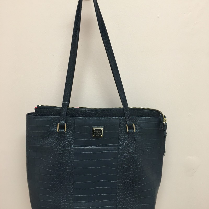 Dooney & Bourke Tote, Navy, Size: OS