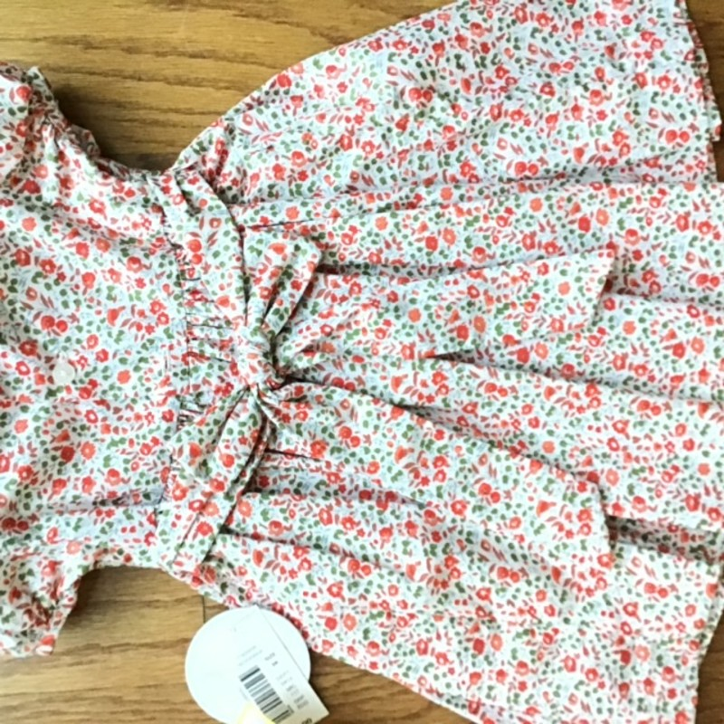 Edgehill Smock Dress NEW, Red, Size: 6m<br /> <br /> <br /> BRAND NEW WITH $50 TAG<br /> <br /> <br /> ALL ONLINE SALES ARE FINAL. NO RETURNS OR EXCHANGES.