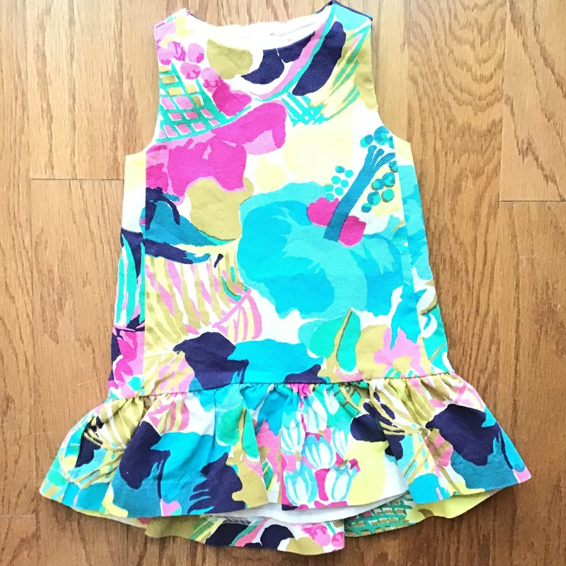Crewcuts Dress, Multi, Size: 2<br /> <br /> <br /> <br /> ALL ONLINE SALES ARE FINAL. NO RETURNS OR EXCHANGES.