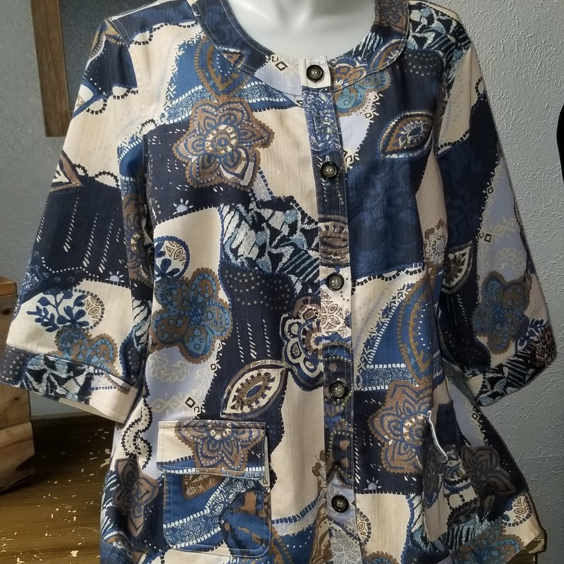 Jacket that can be worn over a cami.  Beautiful condition, Light denim material. Must see!