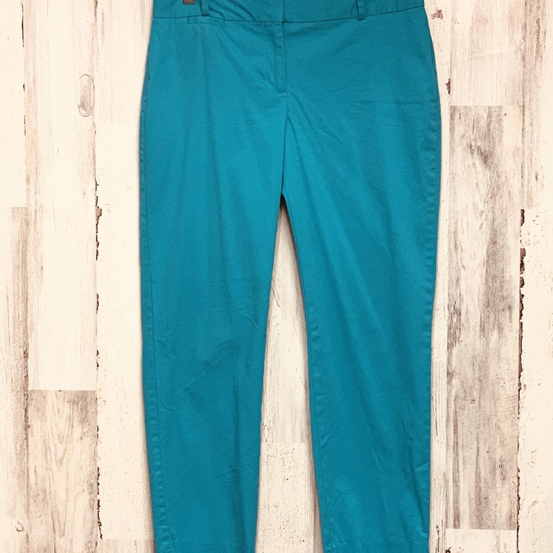 Talbots, Teal, Size: 4