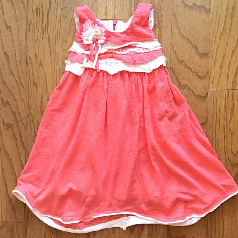 Isobella Chloe Dress, Orange, Size: 3<br /> <br /> <br /> ALL ONLINE SALES ARE FINAL. NO RETURNS OR EXCHANGES.