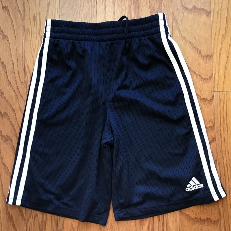 Adidas Short, Navy, Size: 10-12<br /> <br /> <br /> <br /> ALL ONLINE SALES ARE FINAL. NO RETURNS OR EXCHANGES.