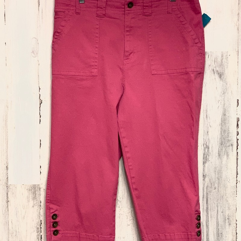 Christopher & Banks, Pink, Size: 14