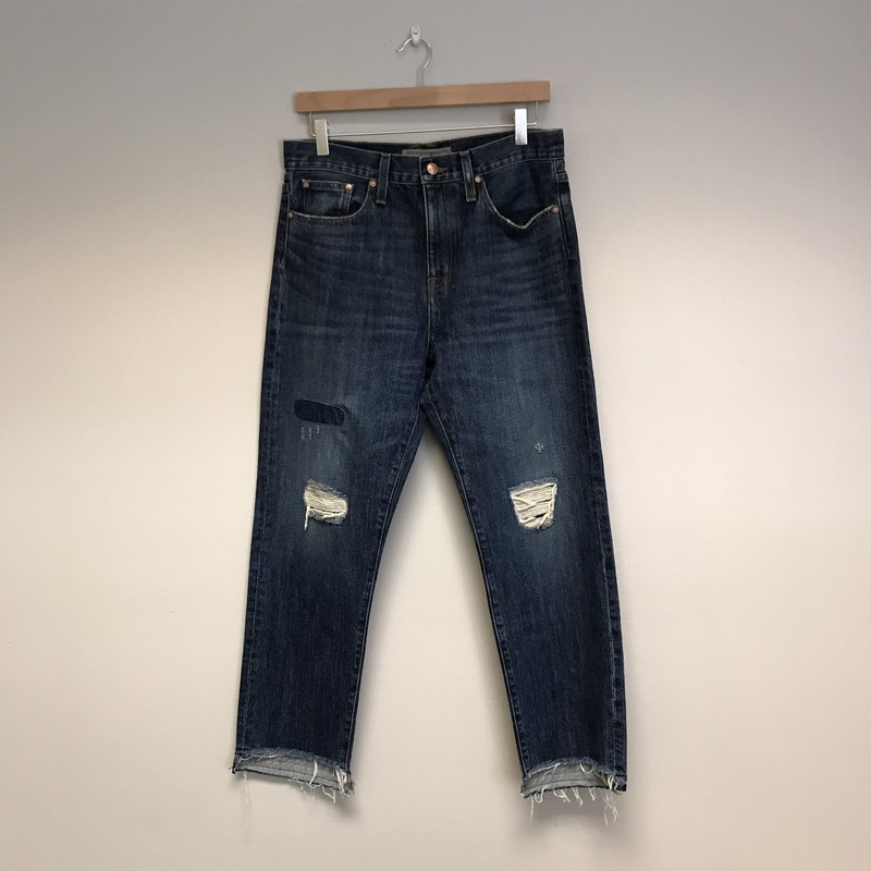 Point Sur Denim Distress Jeans NWT<br /> Size 6<br /> Denim Blue<br /> $89.00