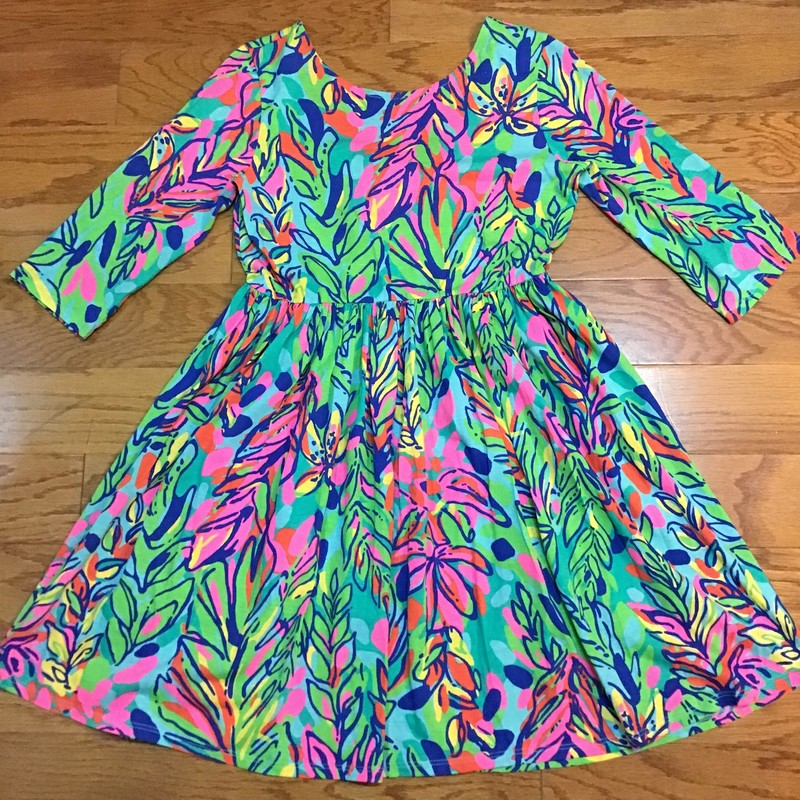 Lilly Pulitzer Dress, Green, Size: 12-14<br /> <br /> <br /> <br /> ALL ONLINE SALES ARE FINAL. NO RETURNS OR EXCHANGES.