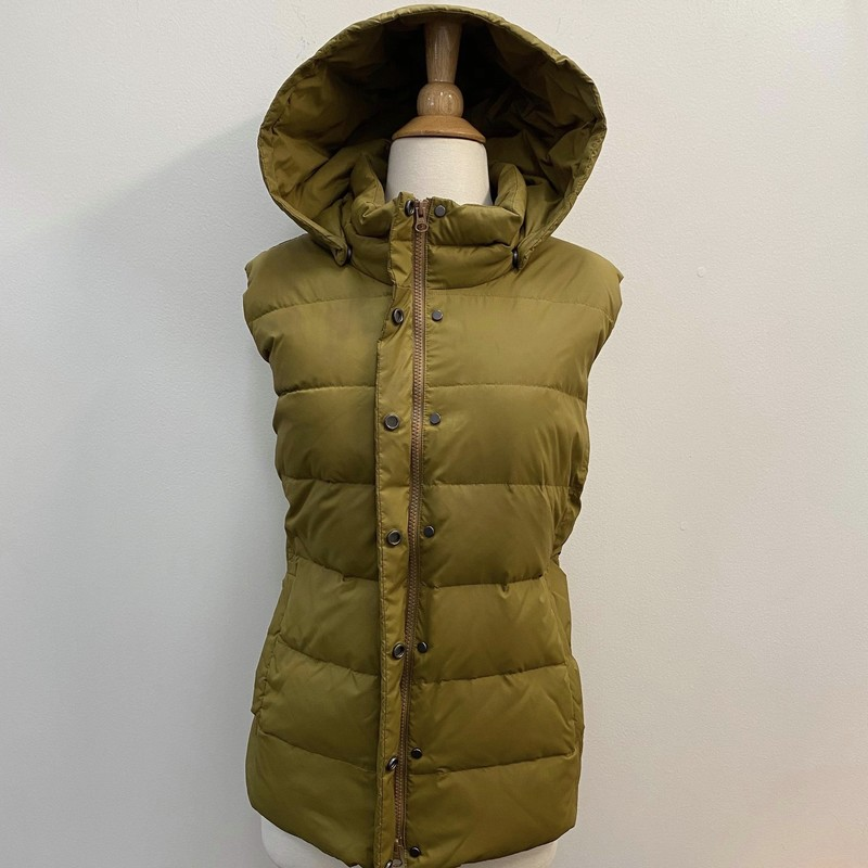 Eileen Fisher Hooded Vest<br /> Goose Down<br /> Size: 18