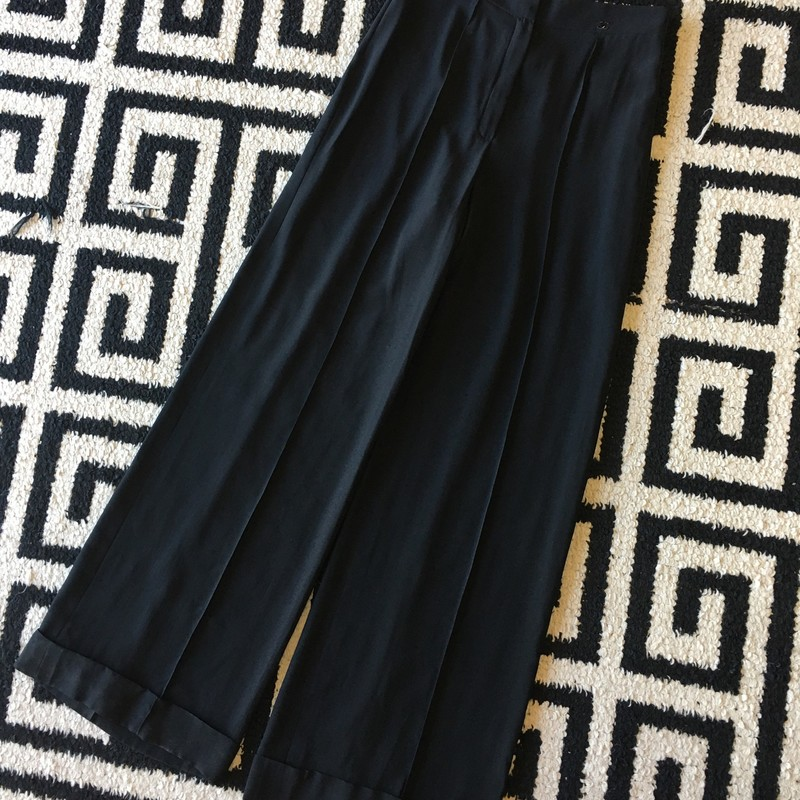 Chanel Silk Pants.