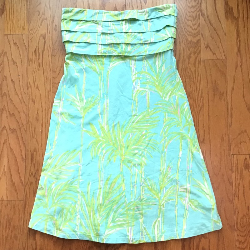 Lilly Pulitzer Dress, Blue, Size: Large<br /> <br /> <br /> WOMENS SIZE<br /> <br /> <br /> ALL ONLINE SALES ARE FINAL. NO RETURNS OR EXCHANGES.