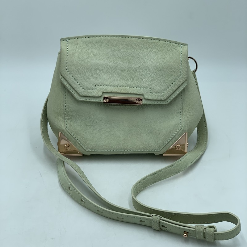 "Alexander Wang Marion, Cream, Size: OS<br /> <br /> condition: GOOD. Subtle discoloration throughout<br /> dustbag included<br /> <br /> Shoulder Strap Drop: 21""<br /> Height: 7.5""<br /> Width: 8""<br /> Depth: 4"""