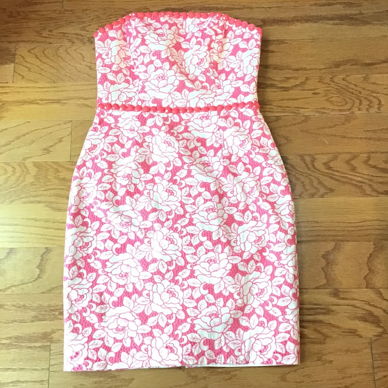 Lilly Pulitzer Dress ASis, Pink, Size: 2<br /> <br /> <br /> AS IS DUE TO STAIN ON CHEST. STILL SUCH A BEAUTFUL DRESS!!<br /> <br /> <br /> ALL ONLINE SALES ARE FINAL. NO RETURNS OR EXCHANGES.