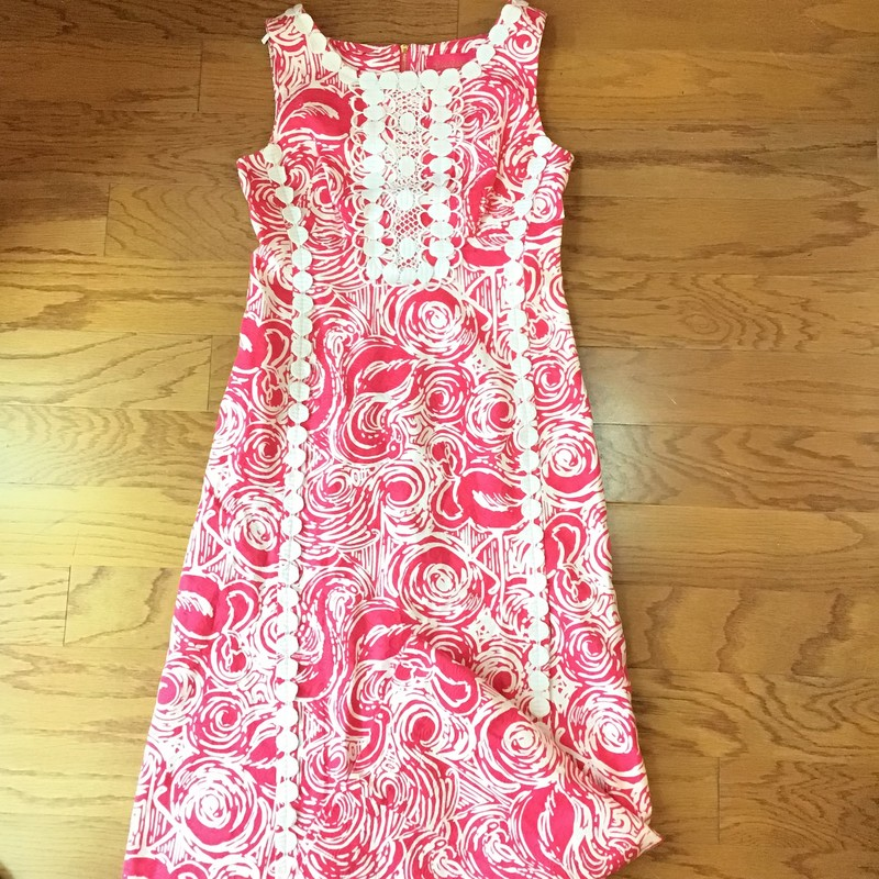 Lilly Pulitzer Maxi Dress, Pink, Size: 0<br /> <br /> WOMENS SIZE<br /> <br /> ALL ONLINE SALES ARE FINAL. NO RETURNS OR EXCHANGES.