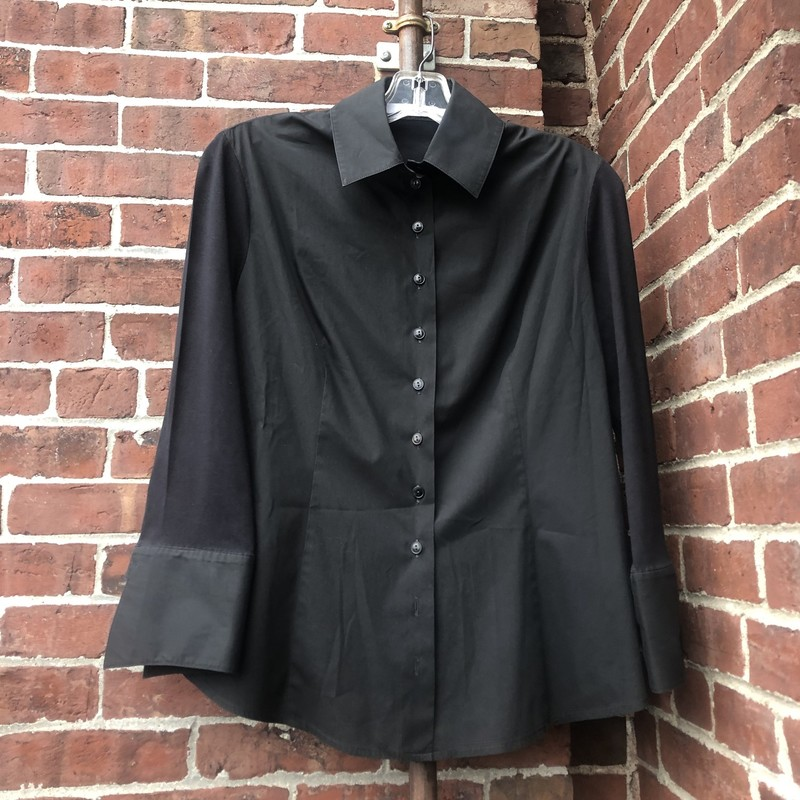 Anne Fontaine, Black, Size 42 / Size 10 US<br /> Very stretchy!