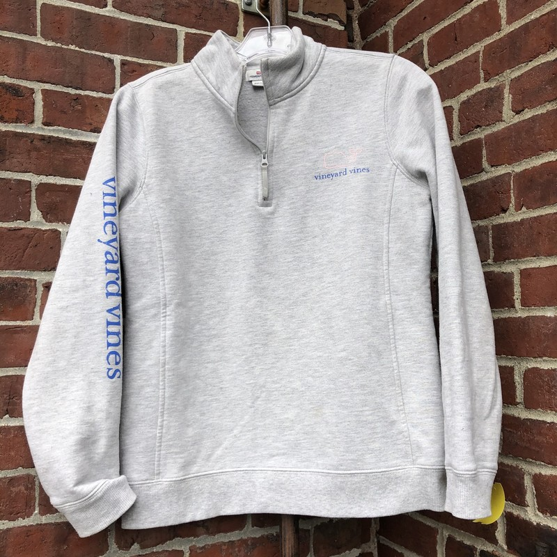 Vineyard Vines Zip Up, Gray, Size: One Size<br /> Very good preowned condition