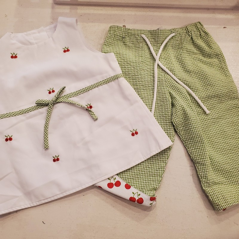 Florence Eiseman SET, Size: 4<br /> Cherries