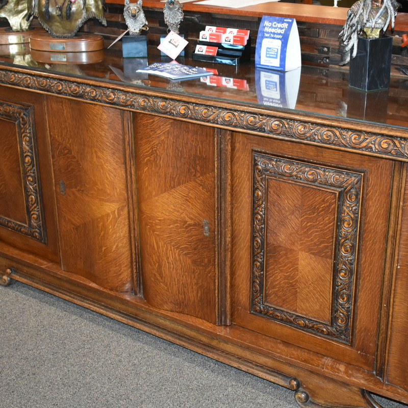 Vintage Oak Buffet
