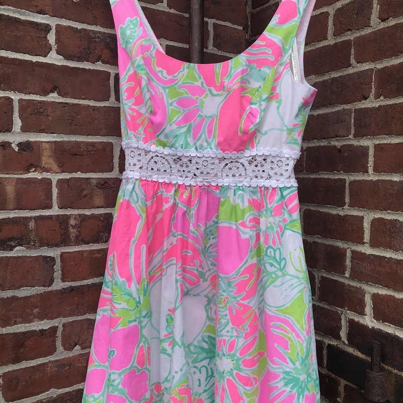 Lilly Pulitzer, Floral, Size: 0
