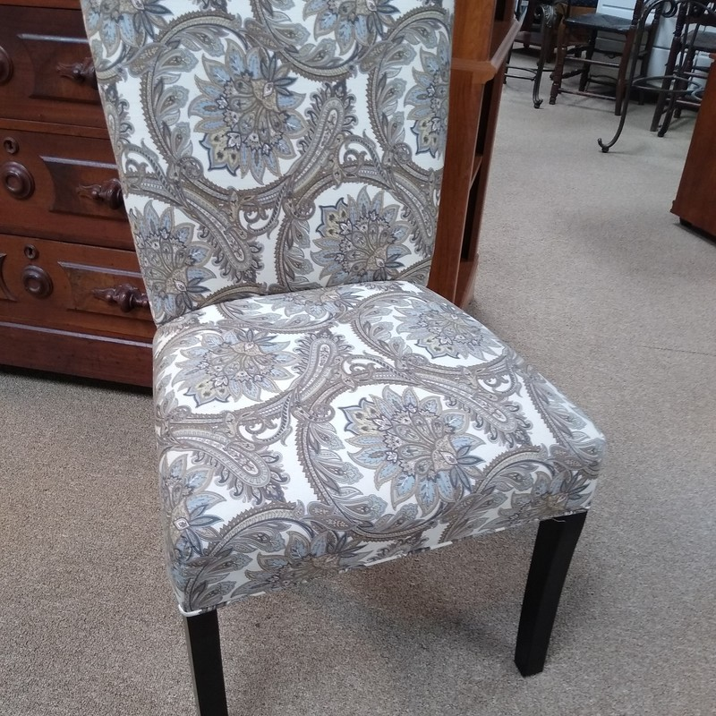 Paisley Chair, Multi, Size: None