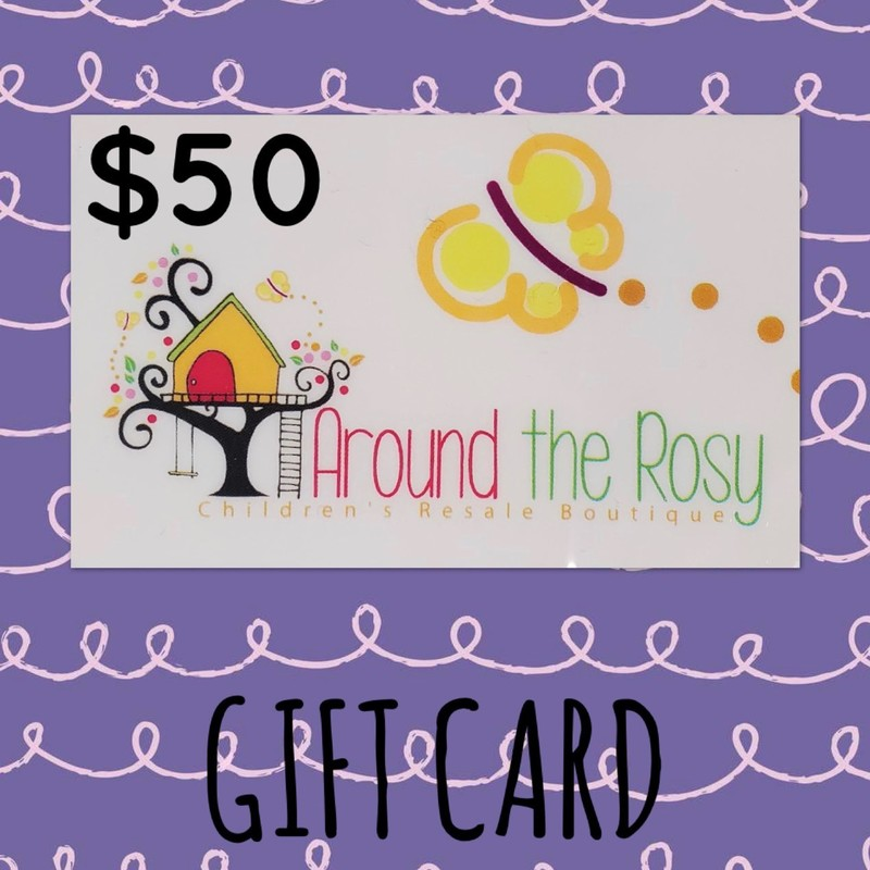 Gift Card, No Expiration $50.00