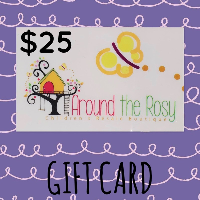 Gift Card, No Expiration $25.00