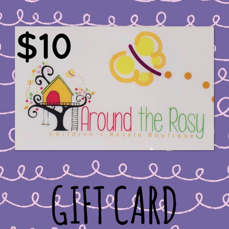 Gift Card, No Expiration, $10.00