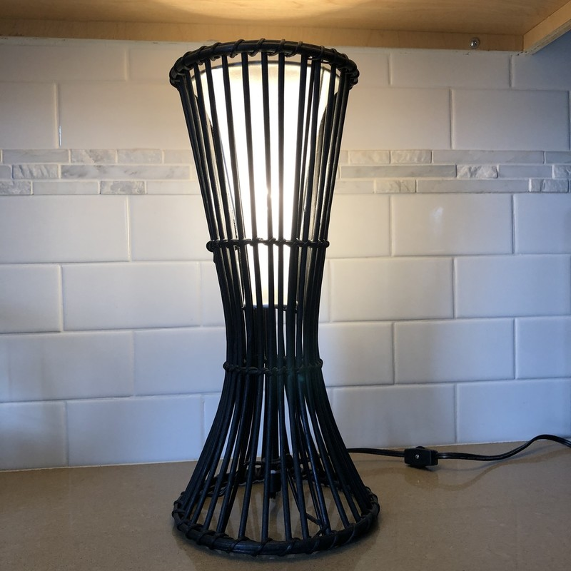 Table Lamp<br /> Black<br /> 15.5""