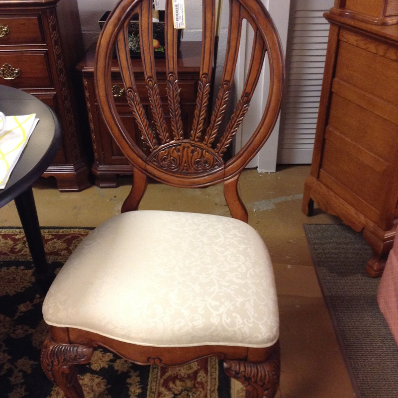 Wheat Back Side Chair, 43.5in H x 22in W x 20in D x 18in Seat Height