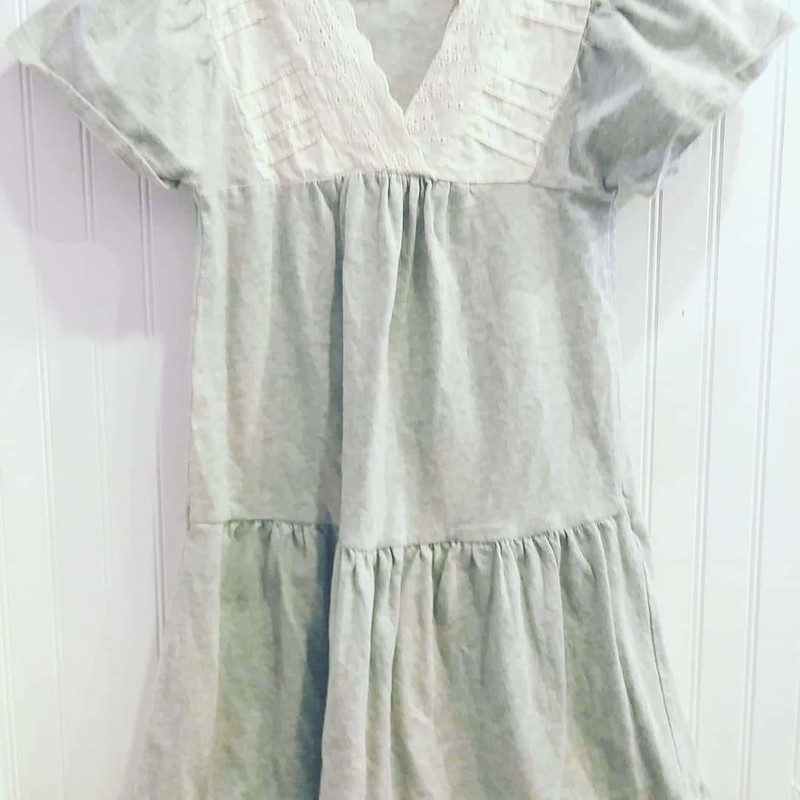 Tea Collection, Grey, Size: 8